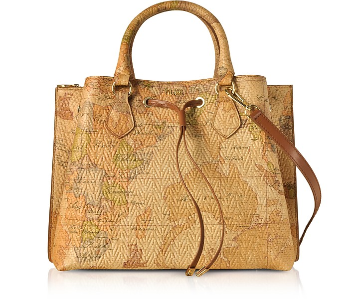 Geo Print Woven Leather Frida Bag - Alviero Martini 1A Classe
