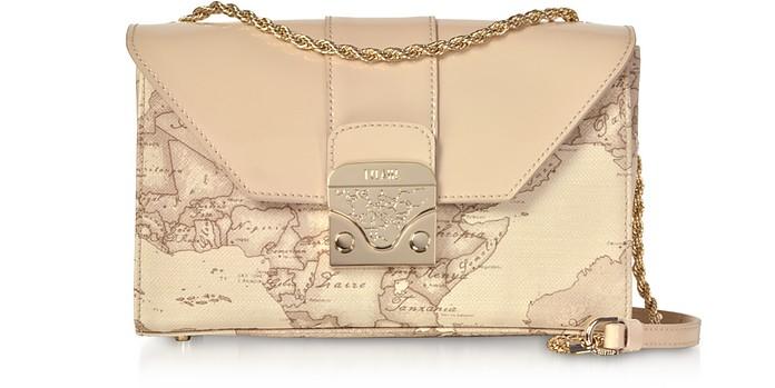 Patent Geo Printed Amor Bag - Alviero Martini