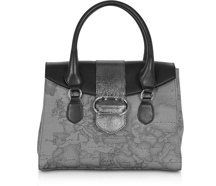 Wonder Geo Small Satchel Bag - Alviero Martini 1A Classe