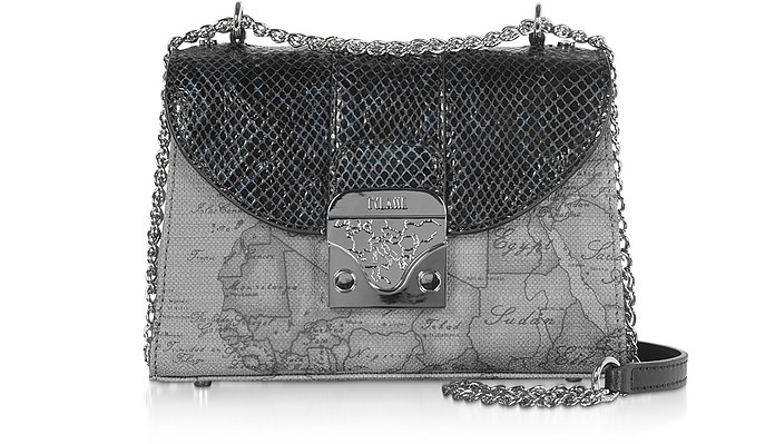 Amor Geo Gray and Animaliér Crossbody Bag - Alviero Martini 1A Classe