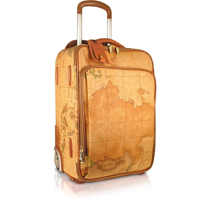 1a Prima Classe - Geo Printed Carry On Trolley Upright - Alviero Martini 1A Classe