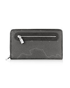Geo Print Zip Around Wallet - Alviero Martini 1A Classe