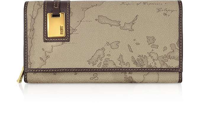 ALVIERO MARTINI 1A CLASSE LARGE WOMEN'S MEDIUM ID FLAP WALLET