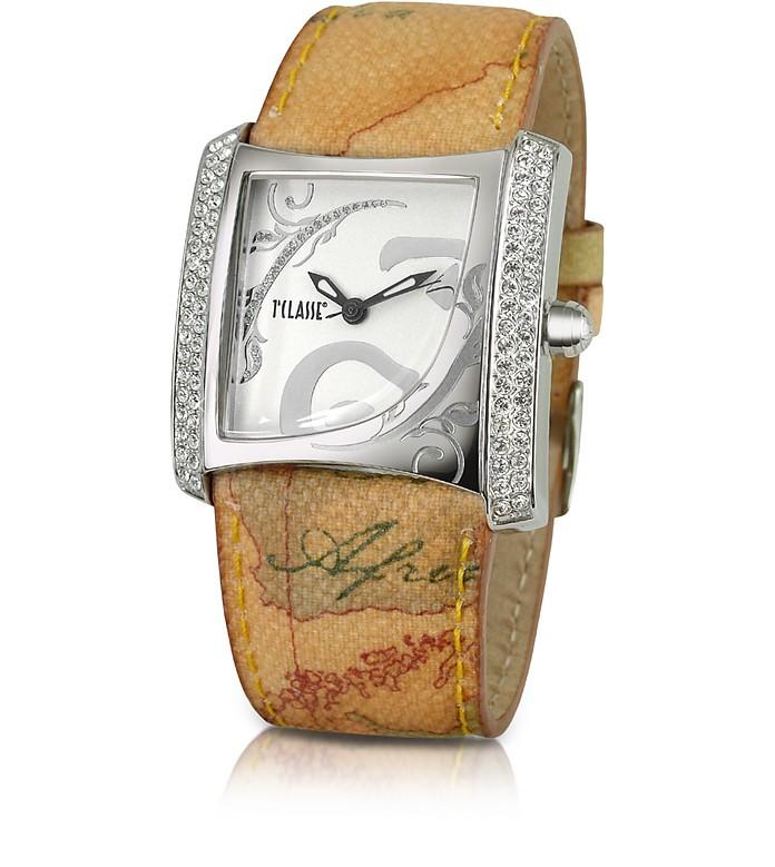 nuovi prodotti per colori armoniosi nuovo design Alviero Martini 1A Classe 1a Prima Classe - Geo Strap Dress Watch