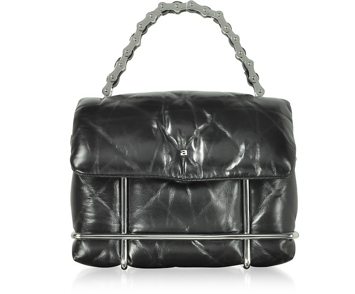 Halo Black Quilted Leather Xbody Bag - Alexander Wang