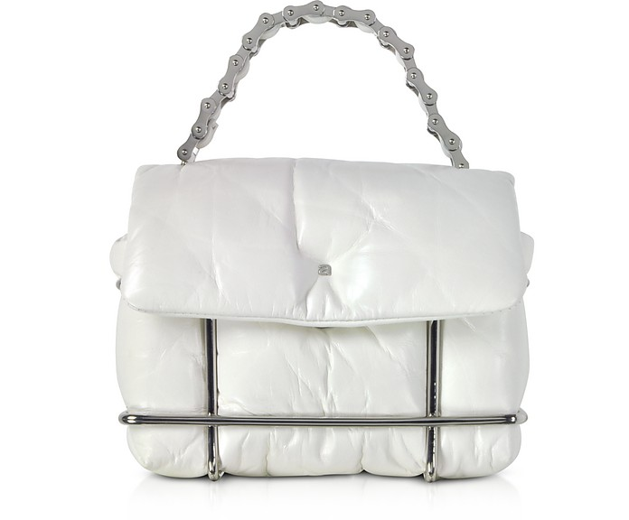 Halo White Quilted Leather Xbody Bag - Alexander Wang