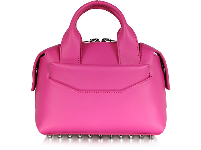Rogue Small Flamingo Smooth Leather Satchel - Alexander Wang