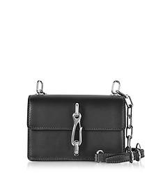 Hook Black Leather Small Crossbody Bag - Alexander Wang