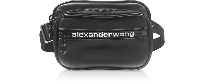 Black Matte Sport Nappa Attica Soft Belt Bag - Alexander Wang / アレキサンダーワン