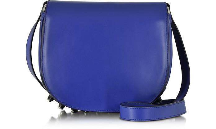 Alpha Lia Vein Leather Saddle Bag - Alexander Wang