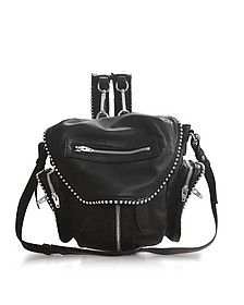 Ball Stud Mini Marti Black Leather Backpack - Alexander Wang