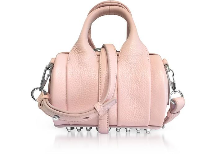 Light Pink Soft Pebble Leather Baby Rockie Satchel Bag - Alexander Wang