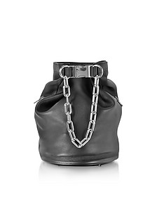 Black Nappa Leather Attica Soft Dry Sack - Alexander Wang