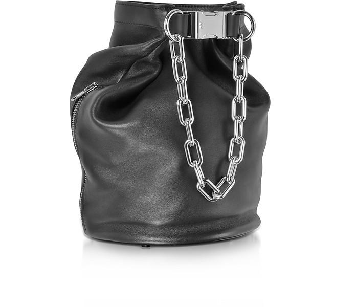 44412b0b01d6 Attica schwarze Bucket-Tasche aus Nappaleder - Alexander Wang. Sold Out
