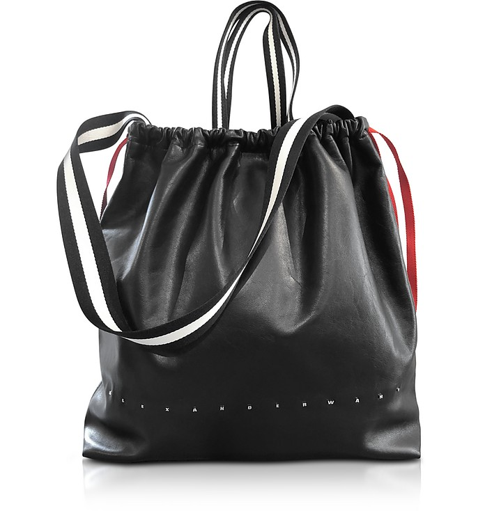 Black Ransack Drawstring Bag - Alexander Wang