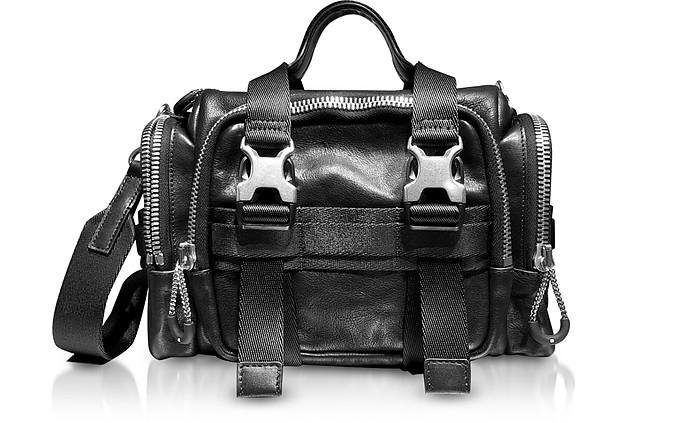 Black Leather Surplus Duffle Bag - Alexander Wang