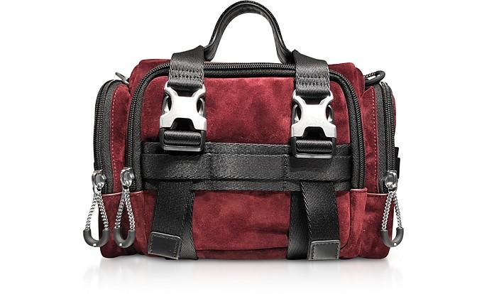 Burgundy Suede Surplus Duffle Bag - Alexander Wang / アレキサンダーワン