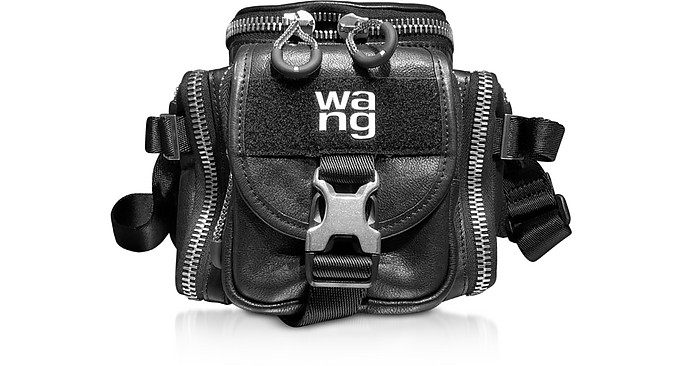 Black Leather Surplus Camera Bag - Alexander Wang