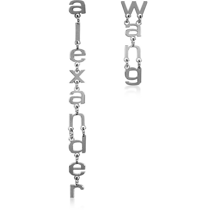 Small Letters Signature Earrings - Alexander Wang