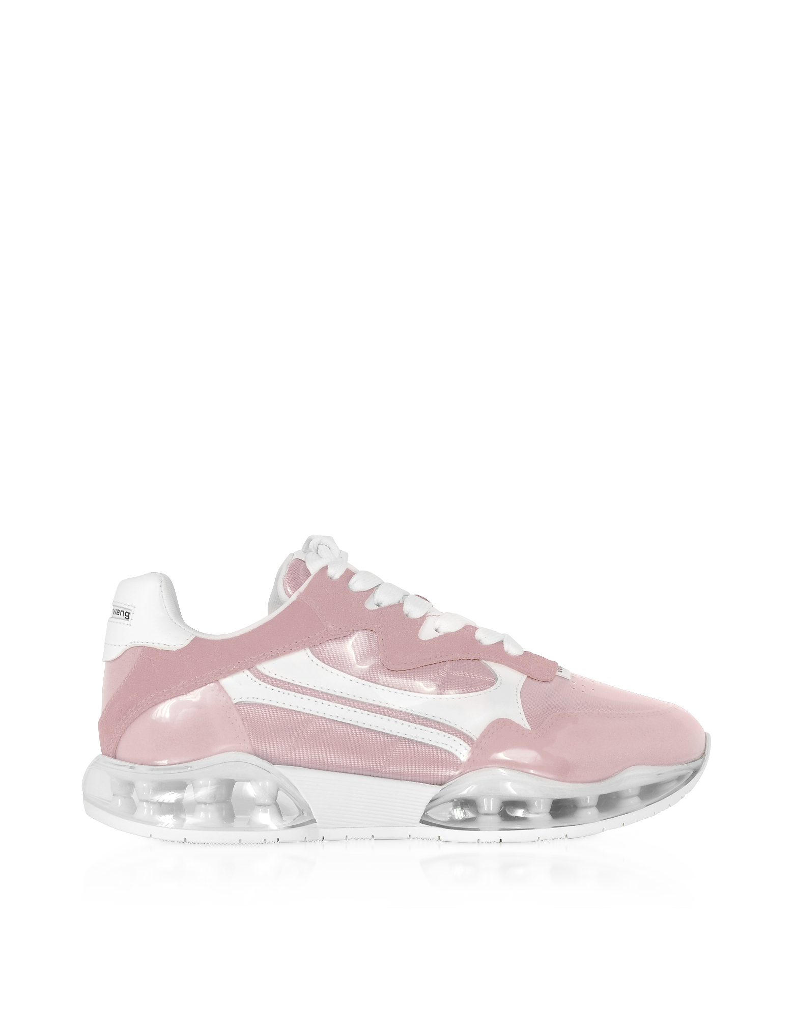 Alexander Wang Awnyc Stadium Pink Coated Nylon And Suede Women's Sneakers