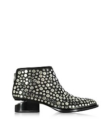 Kori Black Leather Ankle Boot w/Studs - Alexander Wang