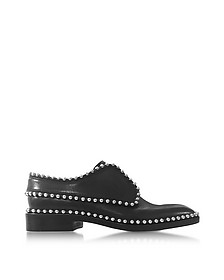 Wendie Black Leather Oxford - Alexander Wang
