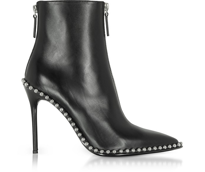 0fc84f0e897b Alexander Wang Eri Black Leather Boots 35 IT EU at FORZIERI Australia