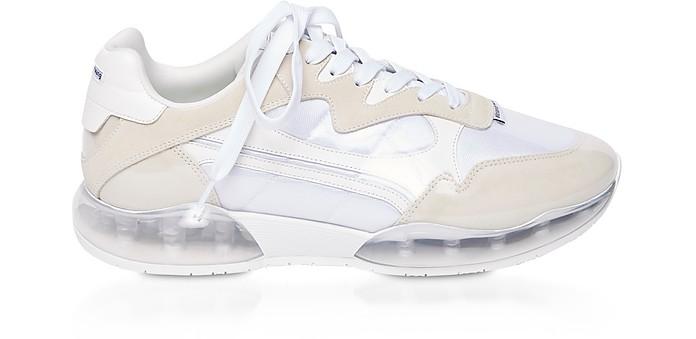 White Suede&Mesh Stadium Sneakers - Alexander Wang / アレキサンダーワン