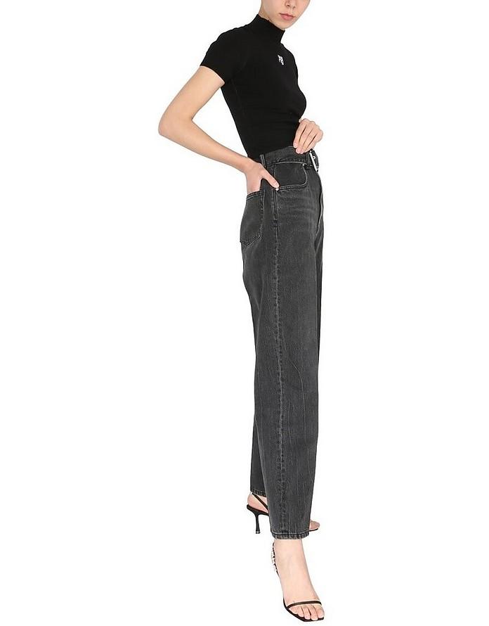 Tall Waist Paperbag Jeans - Alexander Wang