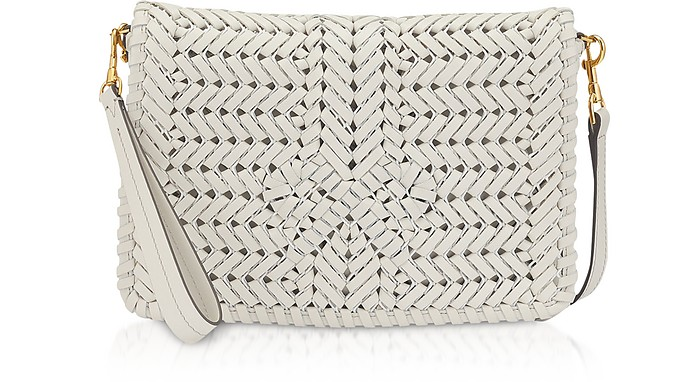 Chalk Calf Leather The Neeson Cross Body - Anya Hindmarch