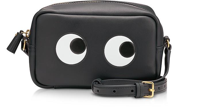 Circus Leather Mini Eyes Cross-Body Bag - Anya Hindmarch