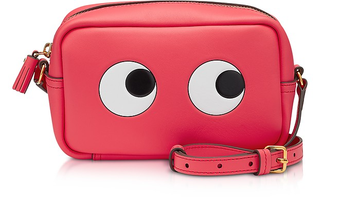 Circus Leather Mini Eyes Cross-Body Bag - Anya Hindmarch