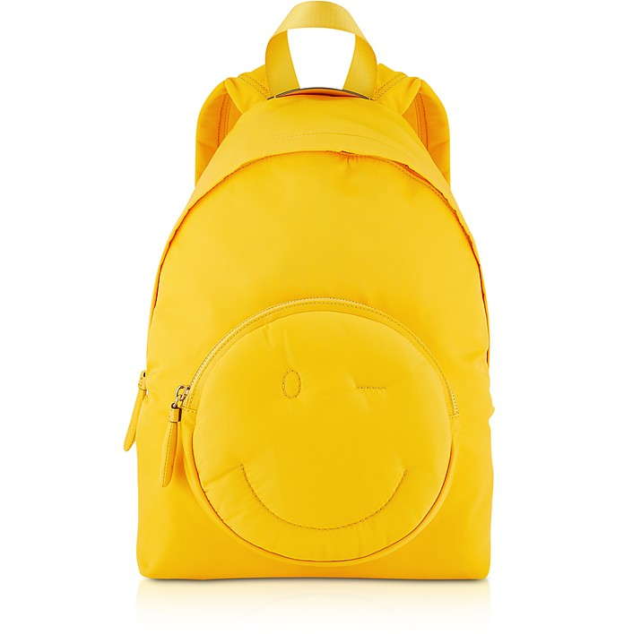 Solei Nylon Chubby Wink Backpack - Anya Hindmarch