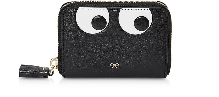 Eyes Small Zip Around Wallet - Anya Hindmarch