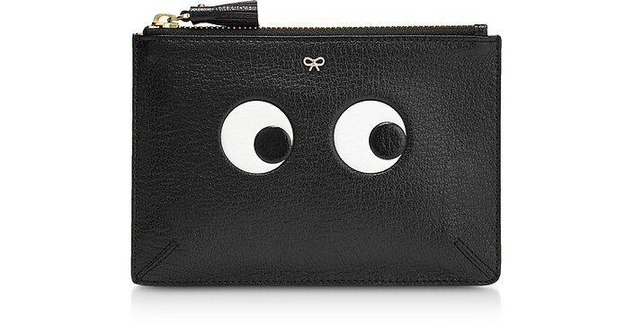 Black Eyes Small Loose Pocket - Anya Hindmarch
