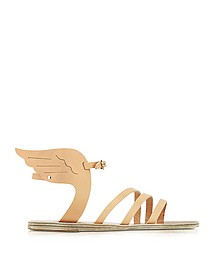 Ikaria Natural Leather Sandal - Ancient Greek Sandals