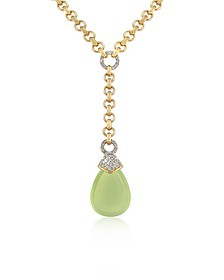 Teardrop Gold-plated Necklace - AZ Collection