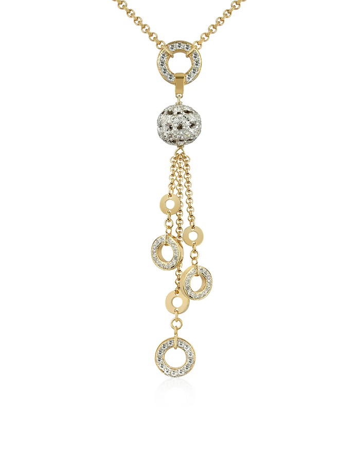Gold-plated Drop Necklace - AZ Collection