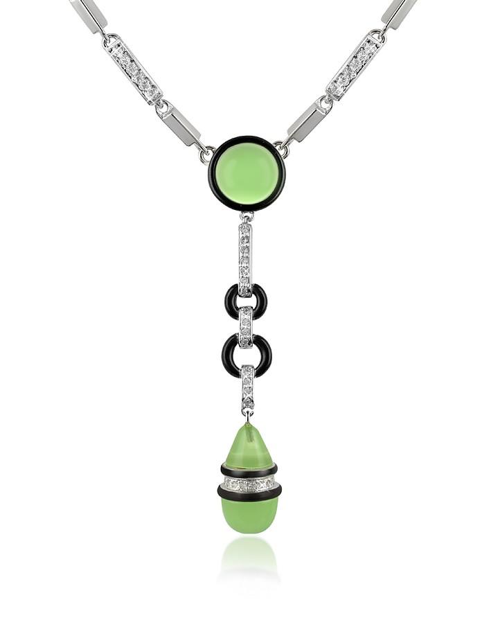 Crystal Drop Necklace - AZ Collection