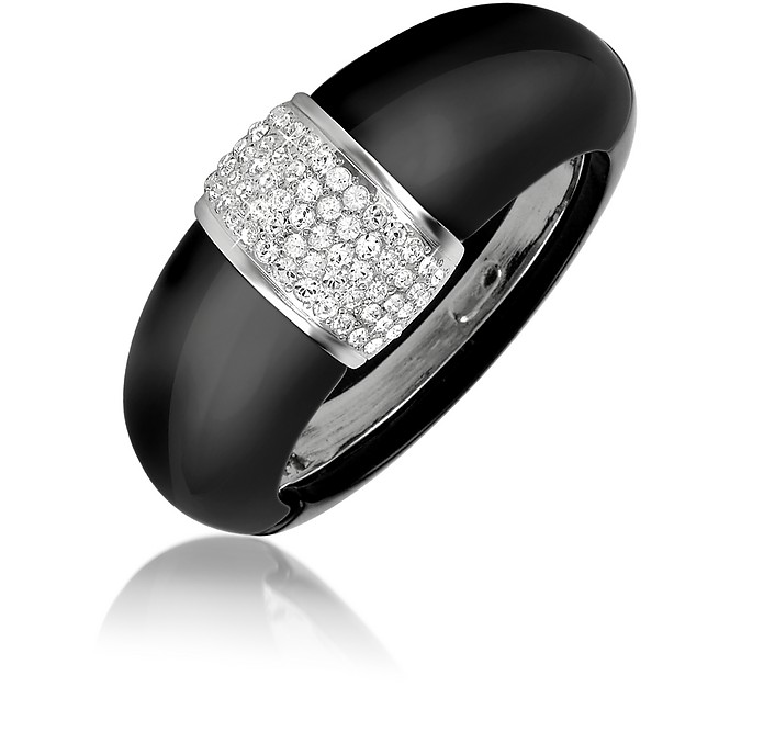 Black Bangle Bracelet - AZ Collection