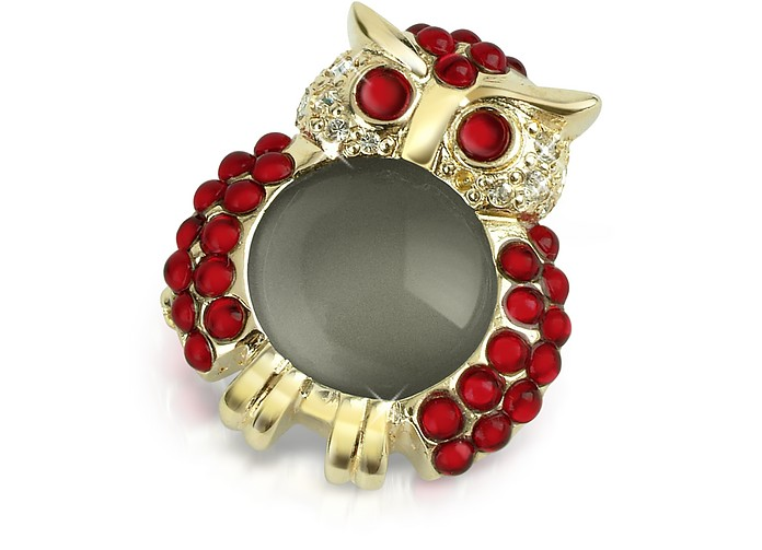 Red Owl Pin - AZ Collection