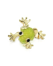 Light Green Frog Brooch - AZ Collection