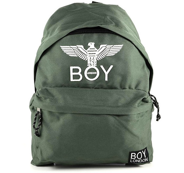 Olive Green Boy Eagle Backpack - BOY London