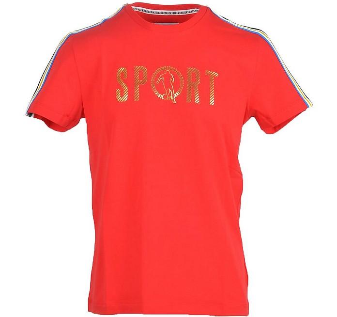 Men's Red T-Shirt - Bikkembergs