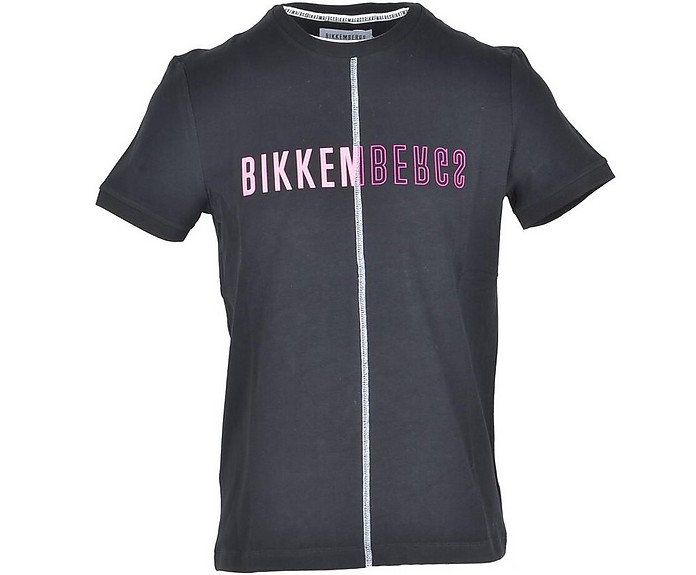 Men's Black T-Shirt - Bikkembergs