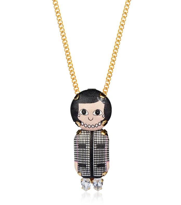 Coco Chain Pendant - Bijoux de Famille