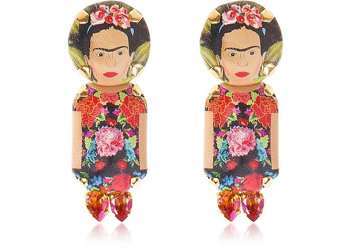 Frida Pendant Earrings - Bijoux de Famille