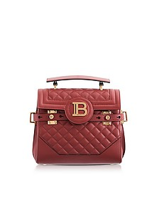 Quilted Leather 23 B-Buzz Satchel Bag