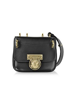 Renaissance 18 Glove Black Leather Small Shoulder Bag - Balmain