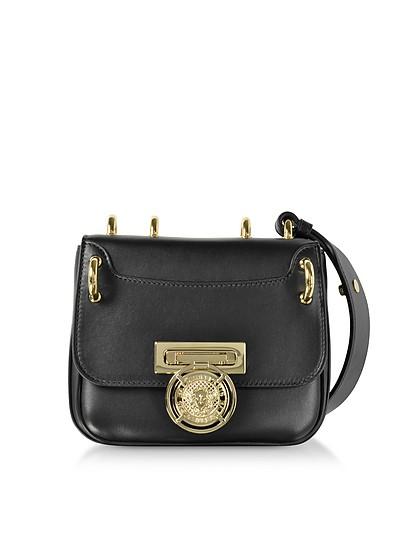 Renaissance 18 Glove Black Leather Small Shoulder Bag - Balmain
